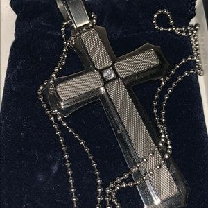 Swavorski Cross Necklace